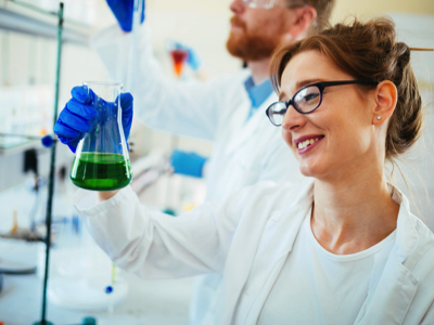 Female Scientist, Credit: Stock Photography