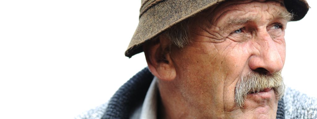 Older Man, Close-up of his Face, Credit: Stock Photography