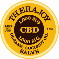 TheraJoy Organic CBD Salve 1,000mg