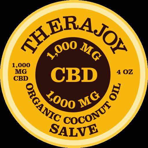 TheraJoy Organic CBD Salve 1,000mg