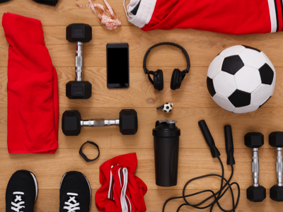 Sports Equipment, Credit: Stock Photography