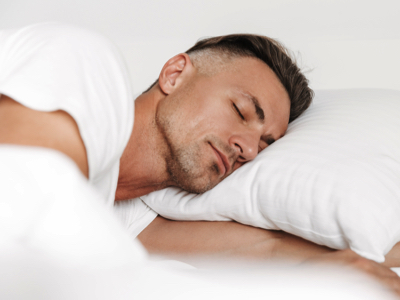 Man Sleeping, Credit: Stock Photography