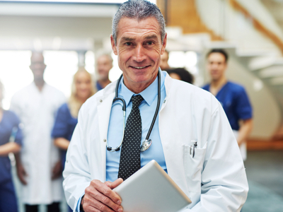 Confident Doctor, Credit: Stock Photography