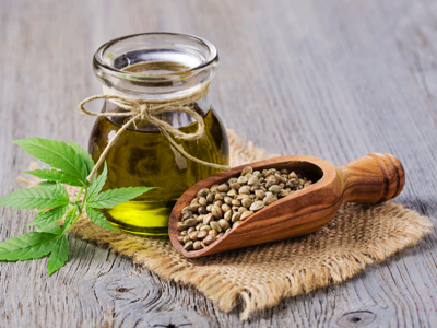 Hemp Seed Oil, Credit: Stock Photography