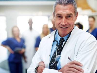 Smiling Doctor, Credit: Stock Photography