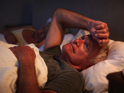 Senior with Insomnia, Credit: Stock Photography