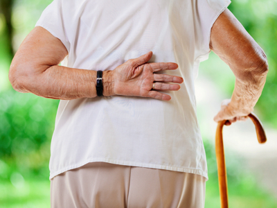 Senior Back Pain, Credit: Stock Photography