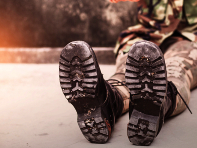 Military Boots, Credit: Stock Photography