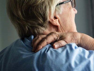 Senior with Back Pain, Credit: Stock Photography