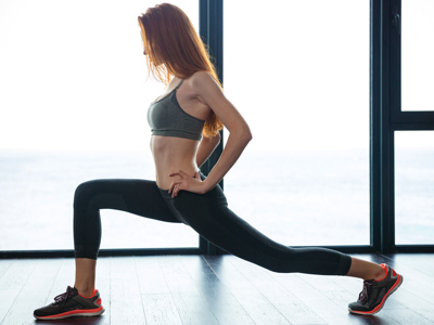 Woman Stretching, Credit: Stock Photography
