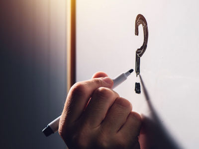 Question Mark, Credit: Stock Photography
