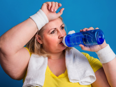 Woman Post Exercise, Credit: Stock Photography