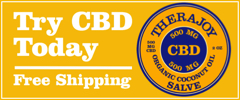 Try TheraJoy Topical Cannabidiol (CBD) Today. Free Shipping.
