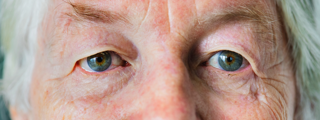Senior Eyes, Credit: Stock Photography