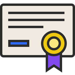 Certificate Outlined